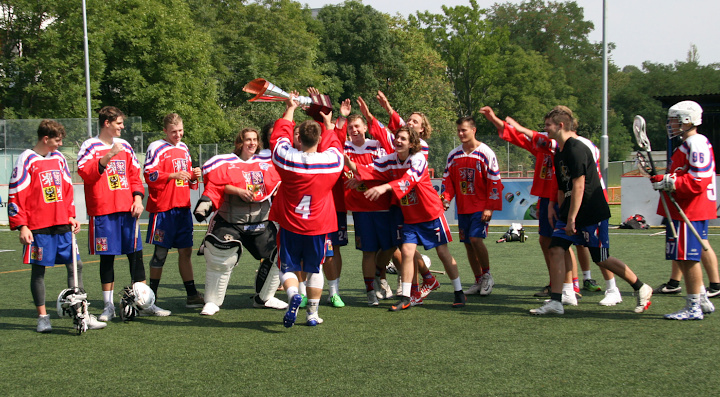 , Czech Republic, U19 European Lacrosse Challenge 2019 winner